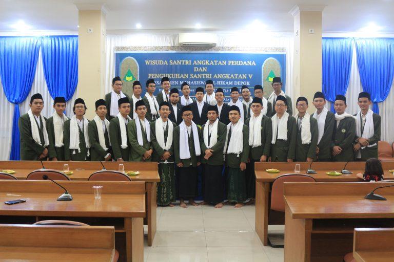 Gelar Wisuda Santri Angkatan Perdana, Pesantren Al-Hikam Sertakan Pengukuhan Santri Baru Pesantren Mahasiswa (PESMA) Angkatan V